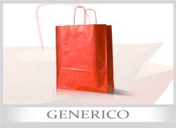 Shopper di carta personalizzati generici