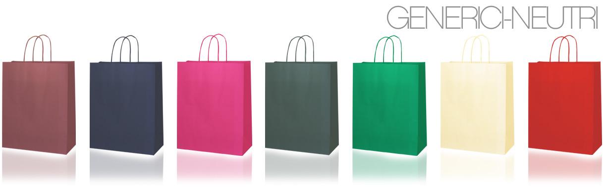 Sacchetti e shopping bags generici