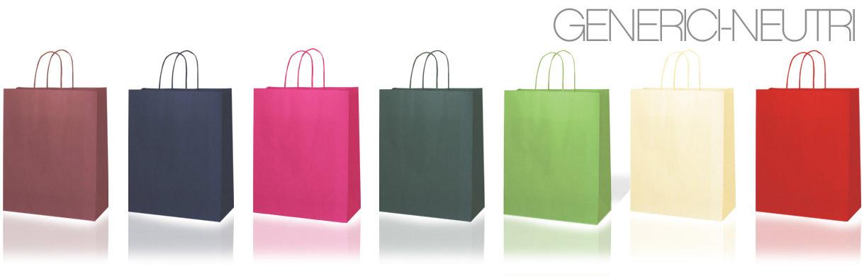sacchetti di carta generici