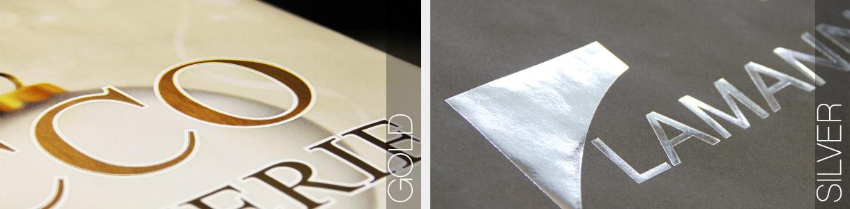 Buste di carta personalizzate semi-automatiche: stampa Gold and Silver