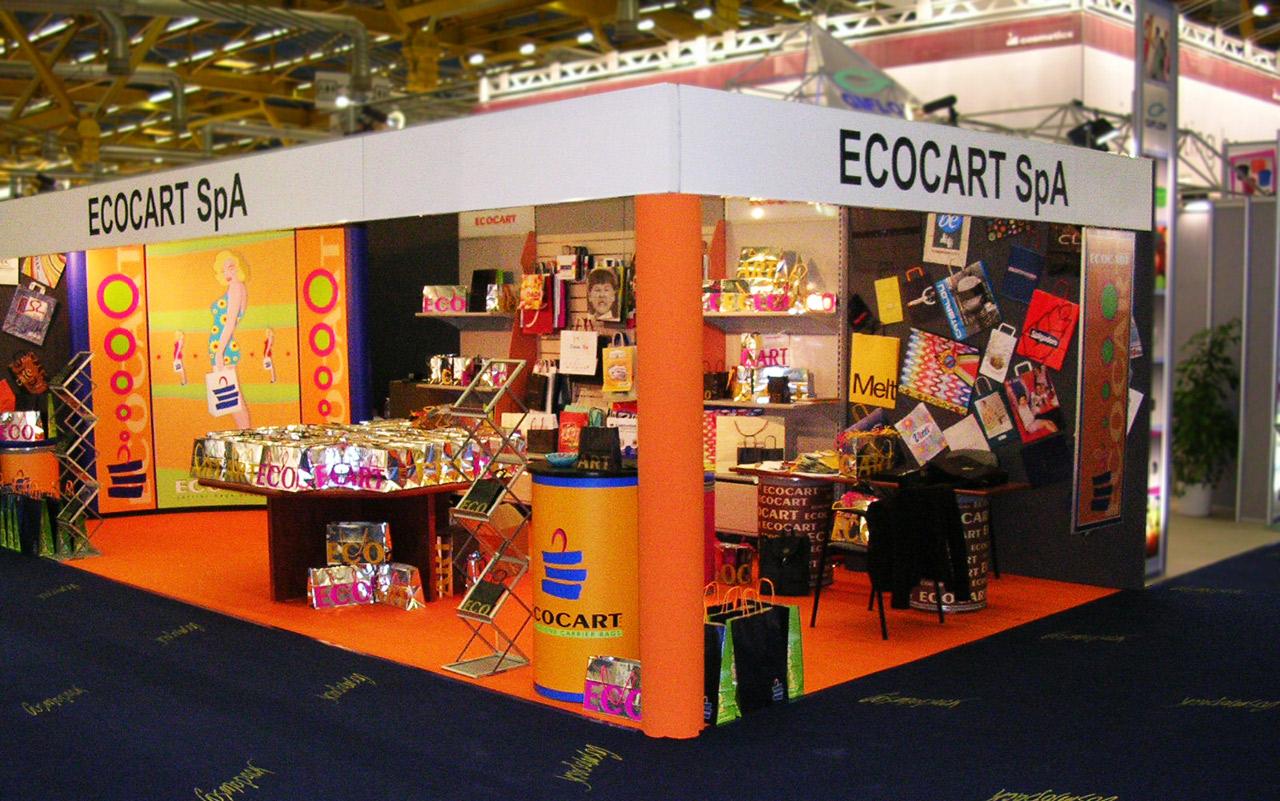 L'azienda - stand fiera Ecocart